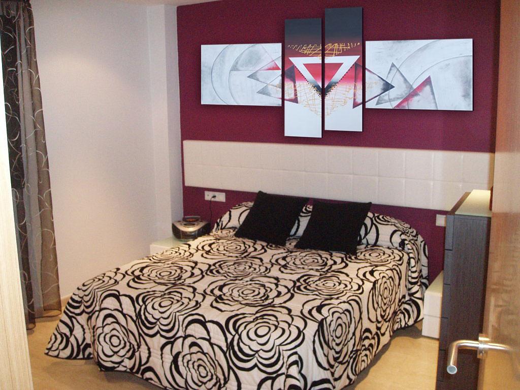 Cuadros modernos abstractos minimalistas pintados a mano - Cuadros dormitorio modernos ...