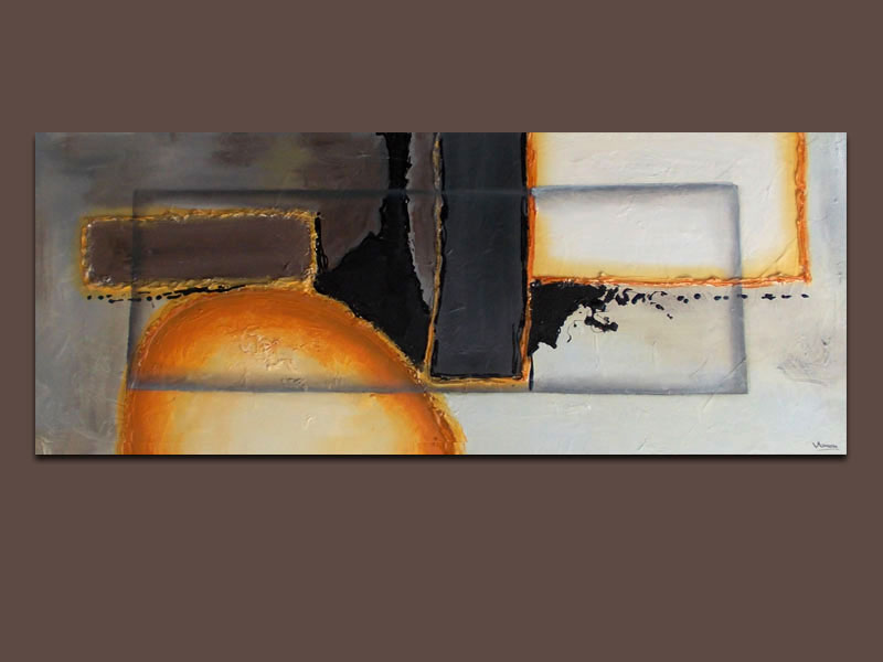 Cuadro abstracto moderno pintados a mano car interior design - Cuadros abstractos minimalistas ...
