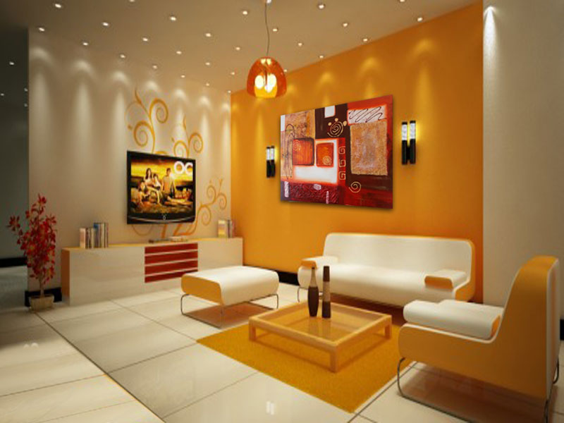Cuadros al oleo modernos abstractos minimalistas pintados for Imagenes de cuadros modernos